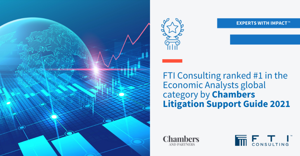 Economic Analysts: FTI Consulting is ranked n.  1